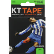 Elastic Sports Tape Lime 20 Strips
