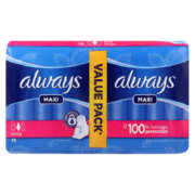 Maxi-Thick Sanitary Pads Duo Pack Super Plus 18 Pads