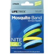 Nite Glo Mosquito Band 2 Pack