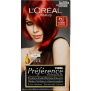 Feria Preference Premium Fade-Defying Colour Pure Scarlet 1 Application