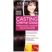 Casting Creme Gloss Conditioning Hair Colour 316 Plum 1 Application
