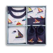 Boys Clothing Car Gift Set 3-6 Months