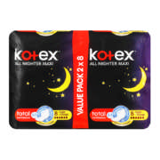 All Nighter Maxi Pads Duo 16 Pads