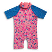 Girl Floral Print Swimsuit 12-18 Months