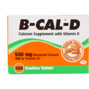 Calcium Supplement with Vitamin D 100 Tablets