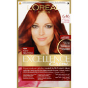 Excellence Cr me Permanent Hair Colour 6.46 Red