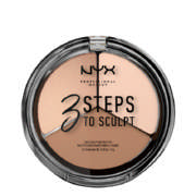 3 Steps To Sculpt Face Sculpting Palette Fair 5g