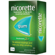 Fresh Mint 2mg Coated Gum 30 Gums