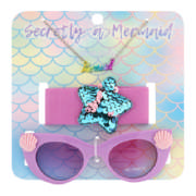 Girls Sunglasses Headband & Necklace