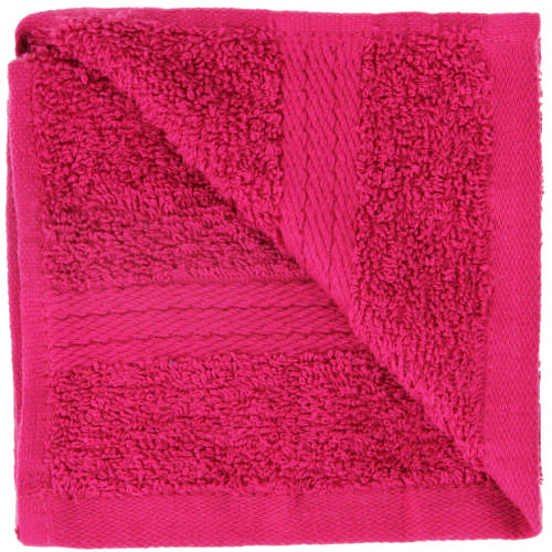 Home Cotton Face Cloth Fuchsia