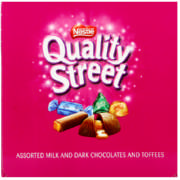 Quality Street Milk And Dark Chocolates And Toffees 200g