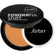 Powderful Stuff Light Pressed Powder Medium