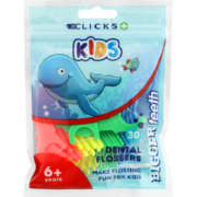 Kids Dental Flossers 30 Picks