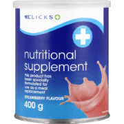 Nutritional Supplement Strawberry 400g