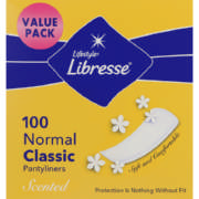 Pantyliners Classic Scented 100 liners