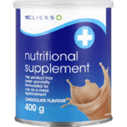 Nutritional Supplement Chocolate 400g