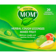 Herbal Lozenges  Mix Fruit 20 lozenges