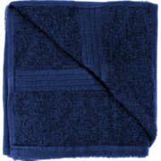 Cotton Hand Towel Navy