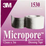Micropore Dressing Tape 12mm x 3m