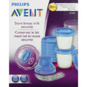 Reusable Breast Milk Storage Cups 10 Pack