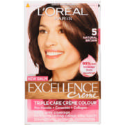 Excellence Creme Hair Colour 5 Natural Brown 1 Application