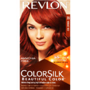 ColorSilk Permanent Hair Color Vibrant Red 35
