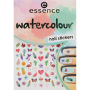 Nail Art Stickers Watercolour