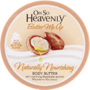 Butter Me Up Naturally Nourishing Body Butter 200ml