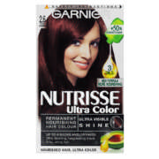 Nutrisse Ultra Color Nourishing Hair Colour 2.6 Dark Cherry 1 Application