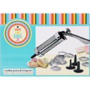 Cookie Press & Icing Set 25 Pieces