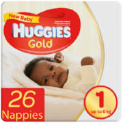 New Baby Disposable Nappies 26 Nappies