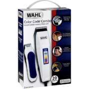Color Coded Combo Clipper Kit 20 Piece