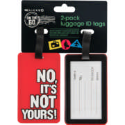 Rubber Luggae ID Tags 2 Pack