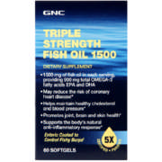 Triple Strength Fish Oil 1500mg 60 Capsules