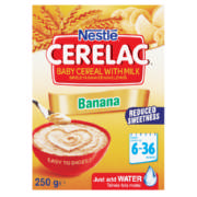 Cerelac Baby Cereal With Milk Banana 250g