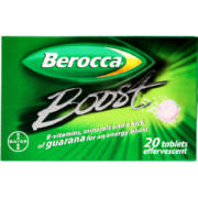 Boost 20 Effervescent Tablets