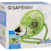 10cm Usb Desk Fan Green