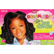 Dream Kids Olive Miracle No-Lye Creme Relaxer Regular 1 Application