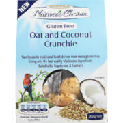Gluten Free Oat And Coconut Crunchie 200g