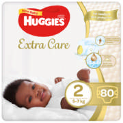 Extra Care Size 2 Nappies 80 Nappies