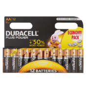 AA Batteries 12 Pack