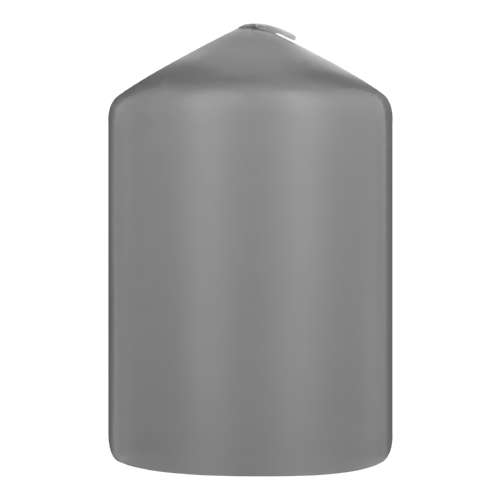 Pillar Candle Grey