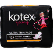 Young Ultra Thin Pads Normal 10 Pads