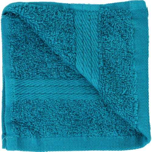 Cotton Guest Towel Teal Blue