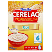 Cerelac Baby Cereal With Milk Rice 250g