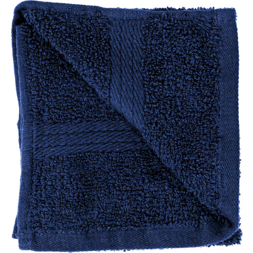 Cotton Guest Towel Navy