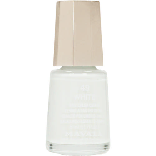 Mini Nail Colour White 49 5ml