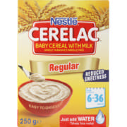 Cerelac Baby Cereal With Milk Regular 250g
