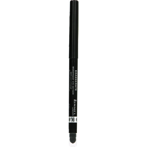 Exaggerate Waterproof Eye Definer Noir 0.28g