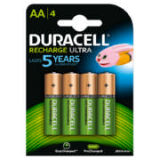 Rechargeable AA Batteries 4 Pack